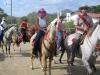 Horse and rider are showing. / Pferd und Reiter präsentieren sich.