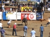 Bull riding - dangerous tradition in Costa Rica. / Das Bullenreiten ist gefährliche Folklore in Costa Rica