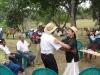 Horse people meet for picknick, chat and dance / Pferdefreunde treffen sich zum Picknicken und Tanzen.