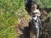 Shurefooted horses on a a Paradise Riding trail.  ||   Trittsichere Pferde garantieren Vergnügen beim Westernreiten mit Paradise Riding.