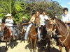 The horse parades are famous Sunday events in Guanacaste. Join it with Paradise Ridng.  ||   Die Pferdeparaden sind ein famoses Sonntags-Spekatakel in der Guanacaste. Dabeisein, mit Paradise Riding.