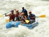 Rafting is available on the riders day off. /  Rafting am reitfreien Tag