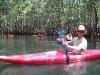 Fun in Junquillals mangroves. /  Freizeit in den Mangrovensümpfen von Junquillal.