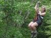 Costa Rica is famous for the Canopy tours. Hang around in the top of giant tropical trees at the rain forest. / Costa Rica ist berühmt für seine Canopy  den Kronen tropischer Baumgiganten im Regenwald.